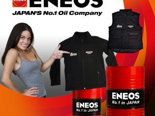 Dzseki vagy mellény ENEOS motorolaj mellé