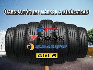 Új autógumi márkák a kínálatban