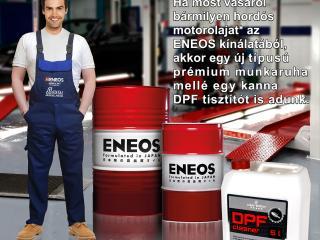 ENEOS DPF tisztítóval