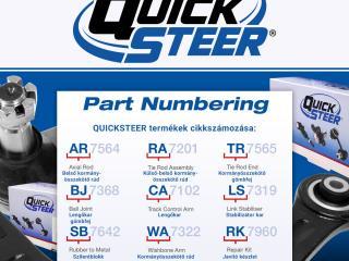 Quicksteer: Minőség kedvező áron!